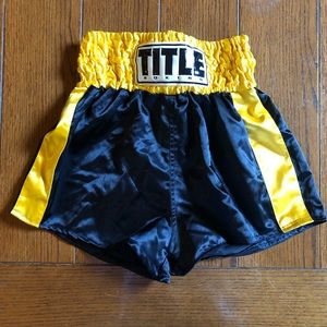 Other - TITLE Professional Satin Boxing Trunks